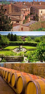 #TUSCAN WINE @ http://www.best-italian-wine.com/wineries-near-florence.html