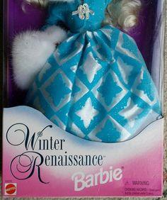 Barbie Doll Winter Renaissance Barbie Evening Elegance Series Special Edition | eBay