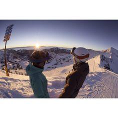 Where did your weekend take you? #snowbird #mountain #selfiestick