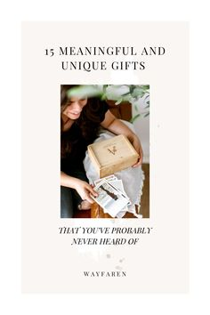 ...and we promise some of these you've never heard of! We've rounded up the most unique gift ideas that are not only one of a kind but are special. 15 meaningful gift ideas that are guaranteed to be a hit. #meaningfulgiftideas #uniquegiftideas #personalizedgiftideas Unique Gifts, Unique Presents, Meaningful Gifts, Framed World Map, Paper Anniversary, Card Box Wedding, Practical Gifts, Parent Gifts, Holiday Sales