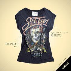 #Colcci #T-Shirt #Vintage #Rocker #Skull
