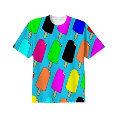 Popsicles T-shirt from Print All Over Me