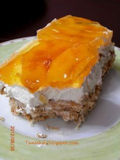 Tante Kiki: Γλυκό ψυγείου στο πι και φι!! Greek Sweets, Greek Desserts, Greek Recipes, Pastry Recipes, Cookbook Recipes, Dessert Recipes, Cooking Recipes, Dessert Ideas, Sweets Cake