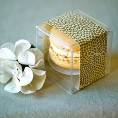 Dress up a simple favour with pretty packaging