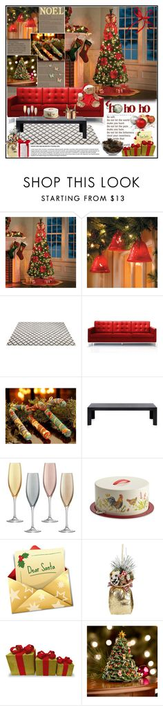 """""""Christmas isn't a season. It's a feeling . 07.12.2016"""" by goharkhanoyan ❤ liked on Polyvore featuring interior, interiors, interior design, home, home decor, interior decorating, Improvements, Rove Concepts, NOVICA and Kartell"""