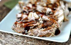 Sweet Balsamic Pork Tenderloin - Slow Cooker