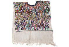 One Kings Lane - Spanish, Mexican & Tribal - Vintage Guatemalan Huipil VII