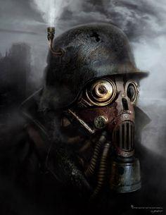 Image result for gask mask dieselpunk