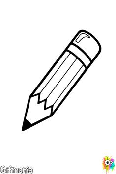 The School supplies coloring pages called pencil to coloring. The most writing basic tool is the pencil, which is an instrument used for drawing and writing.