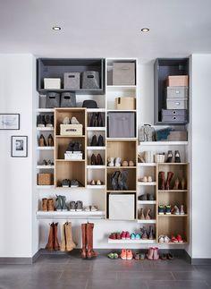 Du rangement de toutes les chaussures