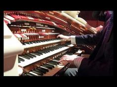 Richard Hills - Tiger Rag (on the Wurlitzer organ in the Assembly Hall, Worthing, UK. on the occasion of the Worthing Theatres' 'Open House' day, September 23, 2010.) GO, CLEMSON TIGERS!!!
