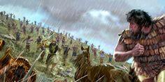 Варак и другие израильтяне преследуют Сисару и его войско