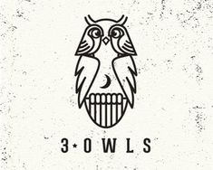 3 owls logo. Do you see all 3?