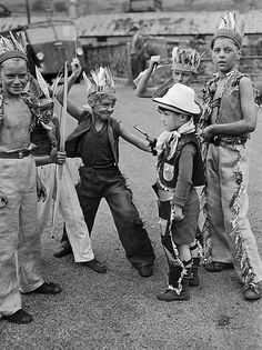 Cowboys or girls, and Indians, a fun old game.