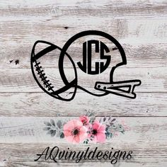 Your place to buy and sell all things handmade Vinyl Monogram, Baby Monogram, Personalized Water Bottles, Personalized Items, Dc Photography, Sports Decals, Ring Bearer Gifts, Car Decal, Vinyl Projects