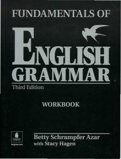 Azar fundamentals of english grammar 3 ed workbook                                                                                                                                                                                 More