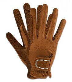 Celoroční jezdecké rukavice All-round ELT hnědá 3ec493515b