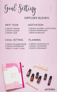 Setting goals with the perfect essential oil diffuser blends to support you. Doterra essential oil diffuser blends for goal setting. Essential Oil Diffuser Blends, Doterra Essential Oils, Doterra Motivate, Oils For Energy, Cedarwood Oil, Doterra Oils, Doterra Diffuser, Doterra Blends, Aromatherapy Oils