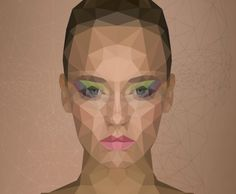 Low Poly Portrait Effect in Photoshop