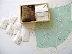 Heirloom Seed Kit in Paper Envelopes  by Sarah Rainwater $28