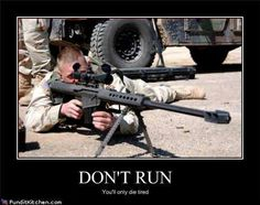 Would love to be shootin a Barrett 50Cal