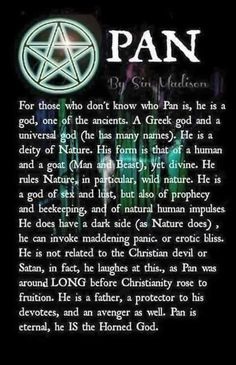 Pan - The Horned God.