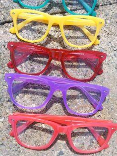 Shock colors Glasses, Colors, Fashion, Eyewear, Moda, Eyeglasses, Fashion Styles, Colour, Eye Glasses