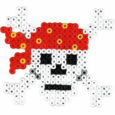 Pirat Totenkopf Hama mini Bügelperlen                              …