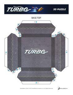 Turbo 3D Puzzle Base Top