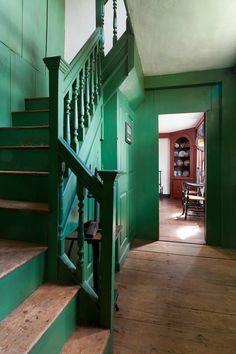 Bidwell House stairs ,Mass./David Dasheill Photography
