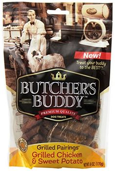 Butchers Buddy Grilled Chicken and Sweet Potato Dog Treats 6Ounce -- Check this awesome product by going to the link at the image.