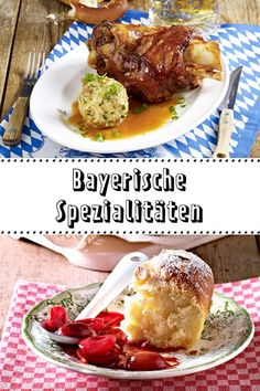 Bayerische Spezialitäten - mei san die guat! #oktoberfest Betty Ford, Tapas, Good Food, Brunch, Food And Drink, Dinner Recipes, Sweets, Beef, Cooking