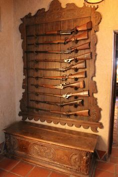 Castle gun rack more death valley guns knives gun rack ideas cool