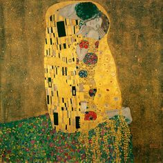 "Gustav Klimt's ""The Kiss"" shows the passion and devotion present in a Leo-Virgo relationship."