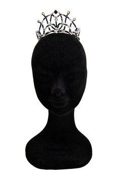 Professional Ballet Headpiece Tiara - Black Swan