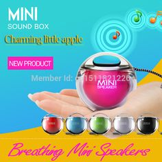 Cheap speaker iphone, Buy Quality speaker motor directly from China speaker camera Suppliers: Creative Colorfulbreathinglights soundOutdoor Portable Mini Speaker Audio Interface :