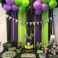 See more from this shop on Etsy, a global marketplace of creative businesses. Festa Monster Truck, Monster Truck Birthday, Monster Trucks, Monster Jam, Digger Birthday Parties, Birthday Bash, Birthday Party Decorations, Birthday Ideas, Hulk Party