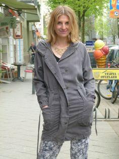 Eco-Mantel von Wunderwerk- ab Herbst im Laden <3
