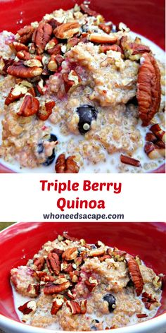 Healthy and delicious breakfast option, even the kids will enjoy this one!