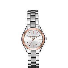 Michael Kors Watches Mini Slim Runway Three-Hand Watch