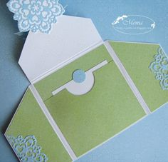 moja papierowa kraina: fancy fold card