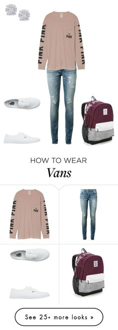 """Untitled #151"" by silentpoetgeek on Polyvore featuring Yves Saint Laurent, Victoria's Secret, Vans and Effy Jewelry"