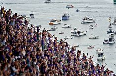 Tailgating for Husky football is best done by boat. | Community Post: 35 Truths That Every Seattleite Is Aware Of
