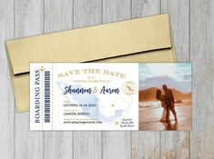 Mexico Map Boarding Pass Save the Date Magnet – Social Savvy Design Destination Wedding Save The Dates, Vintage Save The Dates, Inspiration For The Day, Save The Date Magnets, Addressing Envelopes, Foil Stamping, Ink Color, Wedding Locations, Celebrity Weddings