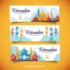 More than 3 millions free vectors, PSD, photos and free icons. Exclusive freebies and all graphic resources that you need for your projects Eid Ramadan, Mubarak Ramadan, Ramadan Crafts, Ramadan Decorations, 2018 Ramadan, Ramadan Celebration, Ramadan Poster, Ramadan Background, Ramadan Kareem Vector