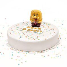 Ben je op zoek naar een leuke verrassing bestel dan online onze 3D Spongebob-Taart en personaliseer deze door een afbeelding of een tekst. Gevuld met heerlijke slagroom en een frisse fruitige vulling versierd met suiker confetti en een handgemaakte marsepeinen Spongebob. Voor 12 personen, vandaag besteld, morgen geleverd.