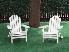 7 outdoor seating projects for the #weekendwarrior: Build adirondack chairs. Make a roomy, reclining seat with a fan back and wide armrests out of weather-resistant decking lumber.