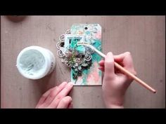 Step-by-step tag tutorial for Lindy's Stamp Gang - YouTube