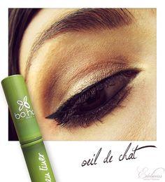 Nouveauté BO.HO Green : le liner ! http://www.ayanature.com/fr/crayons-yeux-eyeliners/442-eyeliner-liquide-bio-boho-green-revolution.html