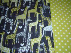 Baby Quilt Giraffe
